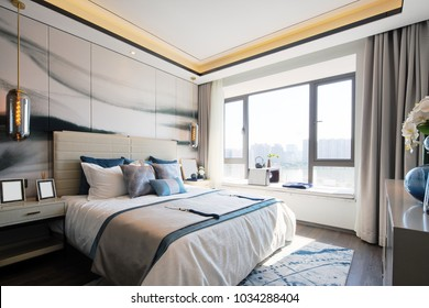 design and decoration of modern bedroom