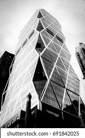 Design details of Modern and Classic Architecture in Manhattan. Photographed in high contrast black and white to bring out the architectural design details.
