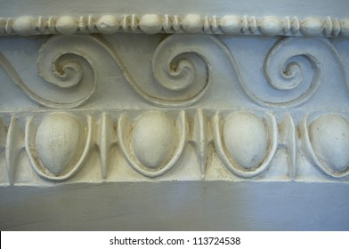 Design Elements of Ancient Greece, Epidaurus.  Examples Egg and Dart and wave patterns used in both ancient and neo-classical architecture and interior design.