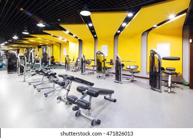 Gym interior images stock photos vectors shutterstock