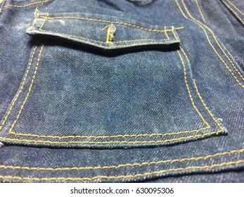 Design of jeans.