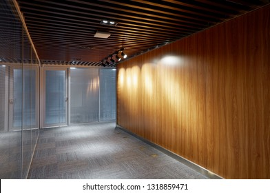 Design office aisle interior
