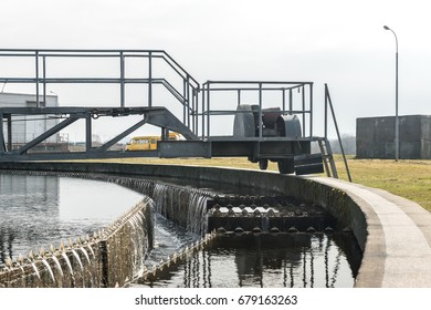 The design of the secondary sludge purification system at the sewage pumping station