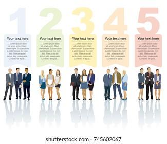 Design speech diagram for infographic and website. Creative testimonials template.