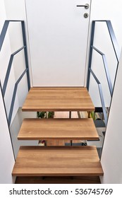 Design stairs and bridge in a modern renovated home