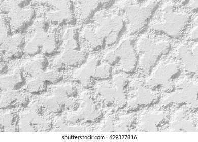 Background of Wet Plaster with a Composition of Abstract