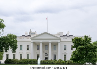 Designed by James Hoban, the White house is located in the National Mall in Washington DC