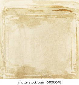 Designed old paper background, texture