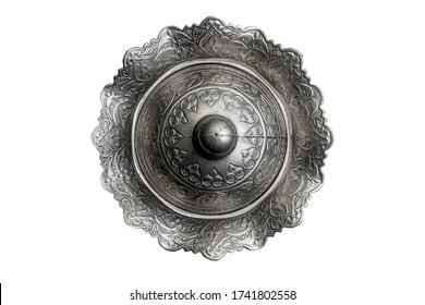 Designed Silver Arabian Old Bowl
