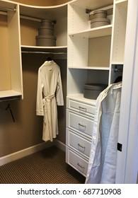 Designer closet.