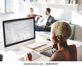Designer Meeting Colleague Teamwork Occupation Concept - Shutterstock ID 368039657