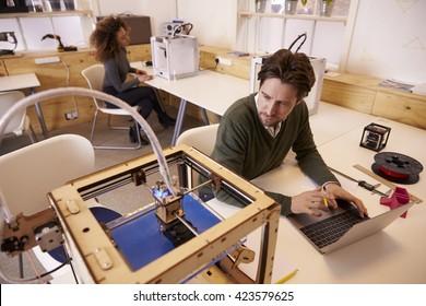 Designer Printing Design Using 3D Printer