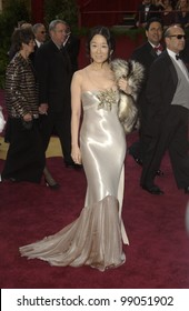Designer VERA WANG at the 76th Annual Academy Awards in Hollywood. February 29, 2004