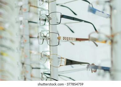 Designer Women's Eyeglass Frames. Selection of Glasses