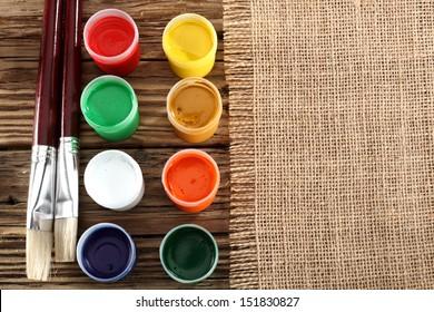 desk of colors