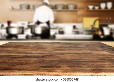 desk and cook
