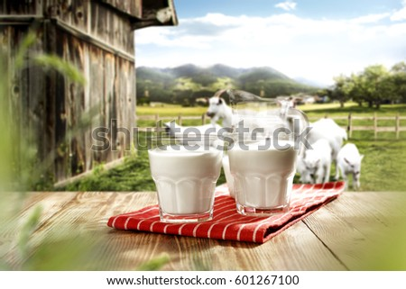 Desk Free Space Goats Stock Photo (Edit Now) 601267100 - Shutterstock