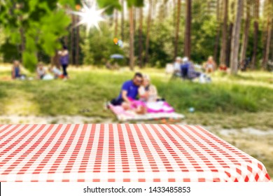 Desk of free space for your decoration and sumer picnic time
