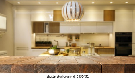 desk of free space for your decoration and kitchen place