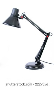 Desk Light Isolated