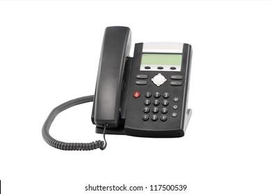 Desktop telephone IP PBX for telemarketing