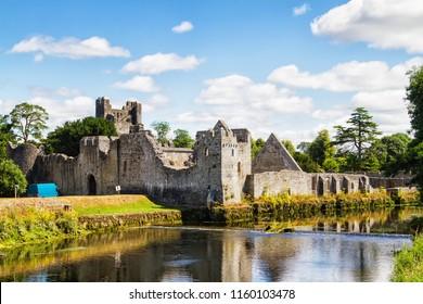 Desmond Castle in Adare Co .Limerick - Ireland.