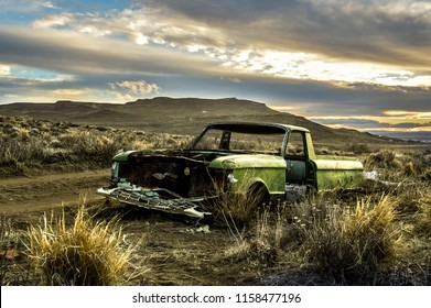 A desolated car