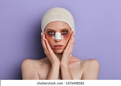 Bandaged Face Images Stock Photos Vectors Shutterstock