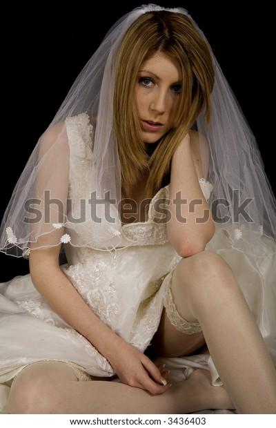 Despondant bride
