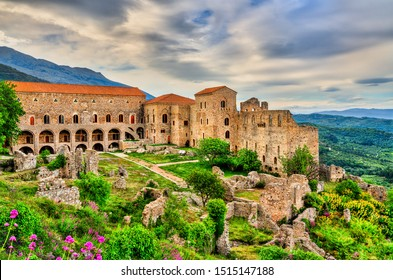 The Despot's Palace at Mystras, UNESCO world heritage in Greece