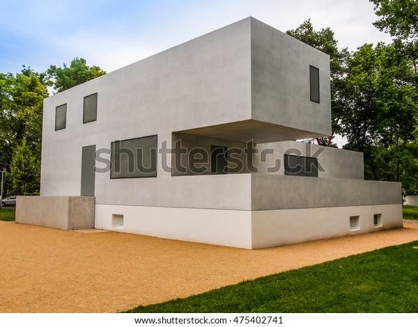 Dessau Germany June 13 2014 Bauhaus Stock Photo (Edit Now