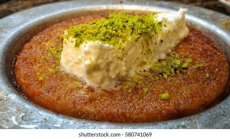 Künefe dessert