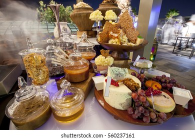 Dessert Buffet in a hotel restaurant