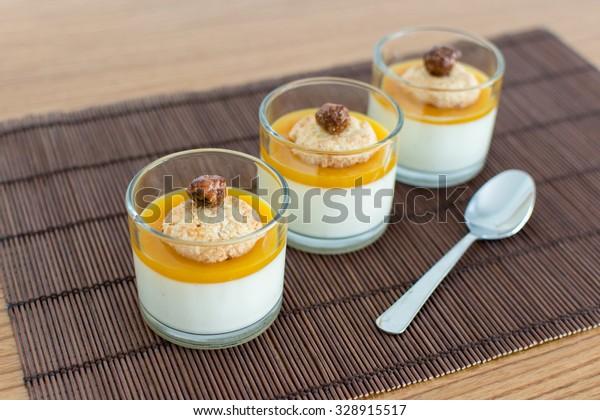 mango glass efterrätt
