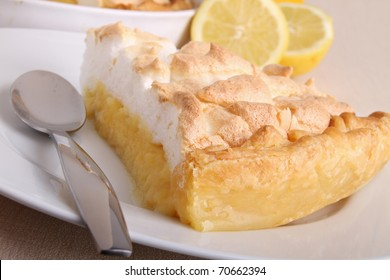dessert, lemon meringue tart