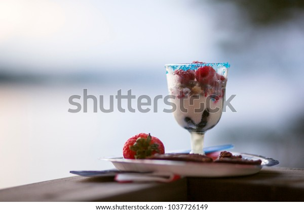 Dessert on the Fourth of July