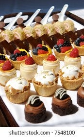 Dessert Tray assorted