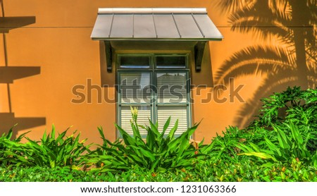 Destin Beach Florida Modern Architecture Rental Stock Photo Edit