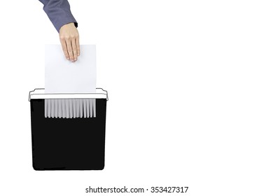 Destroy documents