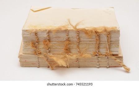 destroyed book