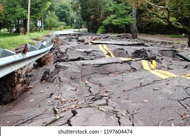 Destruction Flood Damaged