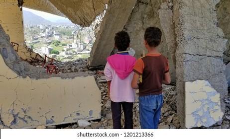 Destructive - schools Yemen