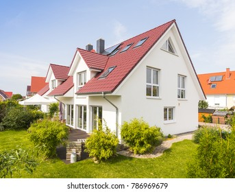Detached house with garden