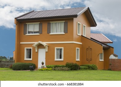 Detached single two story house