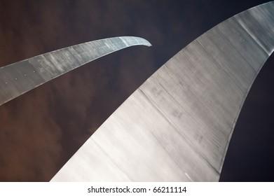 Detail of the Air Force Memorial