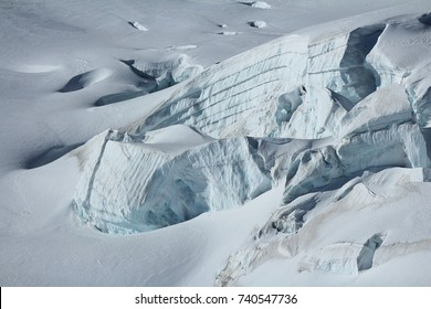 Detail of the Aletsch glacier.