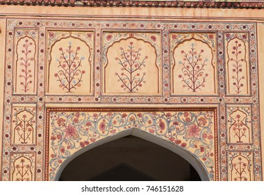 Detail of the Amber Fort
