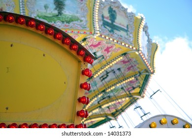 Detail of an amusement park