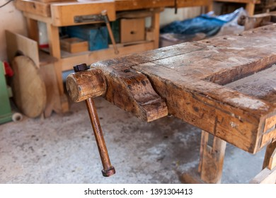 Pleasant Dirty Workbench Images Stock Photos Vectors Shutterstock Machost Co Dining Chair Design Ideas Machostcouk