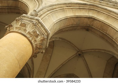 detail of antic archway